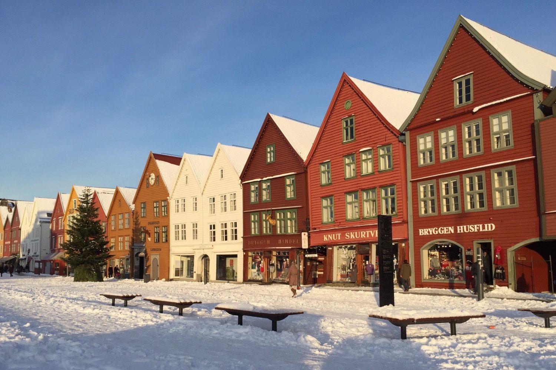 Randonnée Norvège - Bergen en hiver