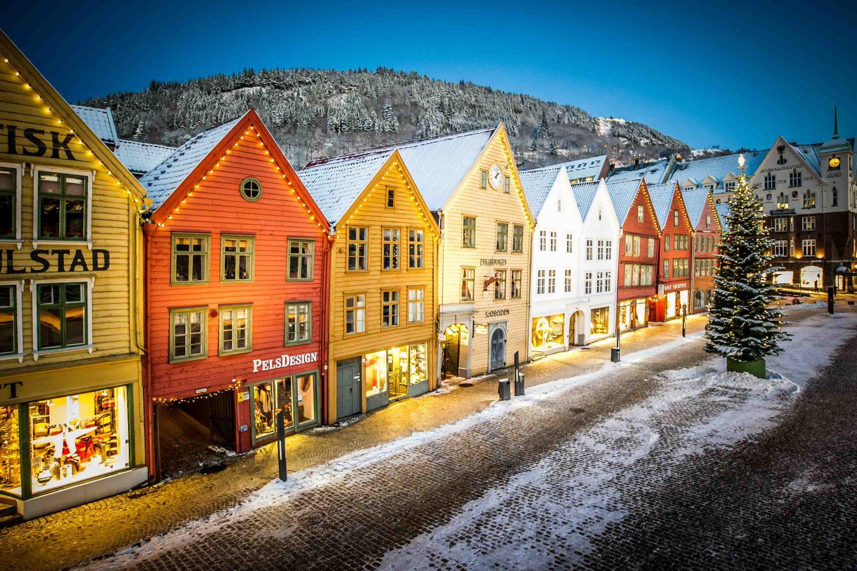Randonnée Norvège - Bergen - hiver