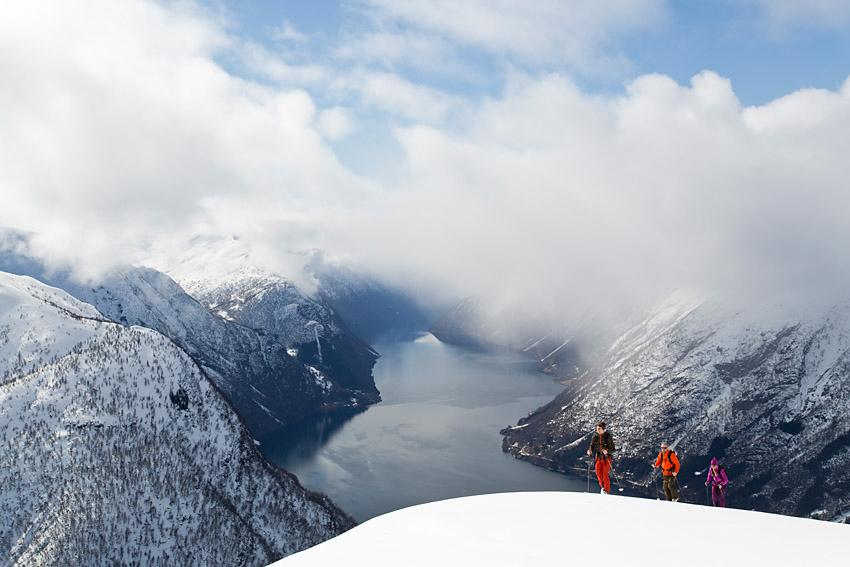 Ski de randonnnée Norvège - fjords