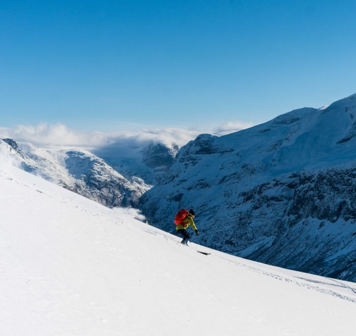 Ski de randonnnée Norvège- fjords