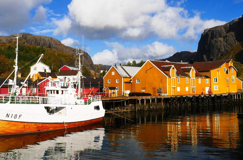 Randonnée Norvège - Lofoten Nusfjord