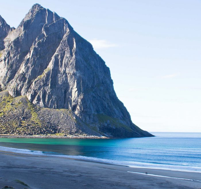 Randonnée Norvège - Lofoten Kvalvika