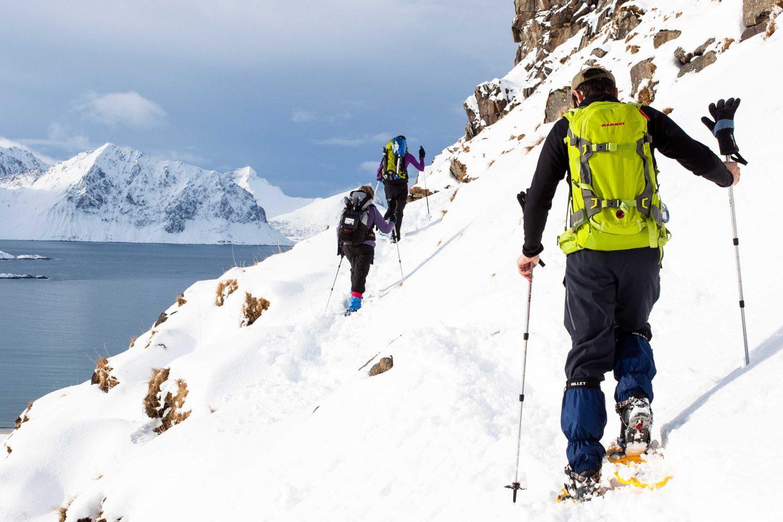 Randonnée Norvège - Lofoten raquettes