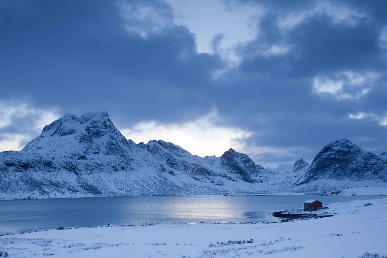 Randonnée Norvège - Lofoten hiver