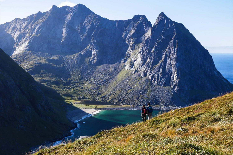 Randonnée Norvège - Lofoten - Kvalvika
