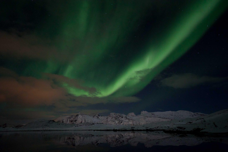 Randonnée Norvège - Aurore boréale Lofoten