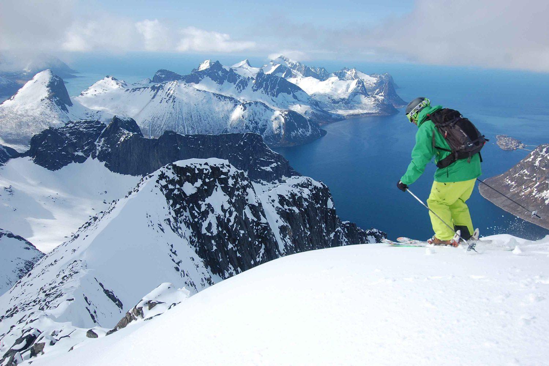 ski de rando Norvège - Lyngen