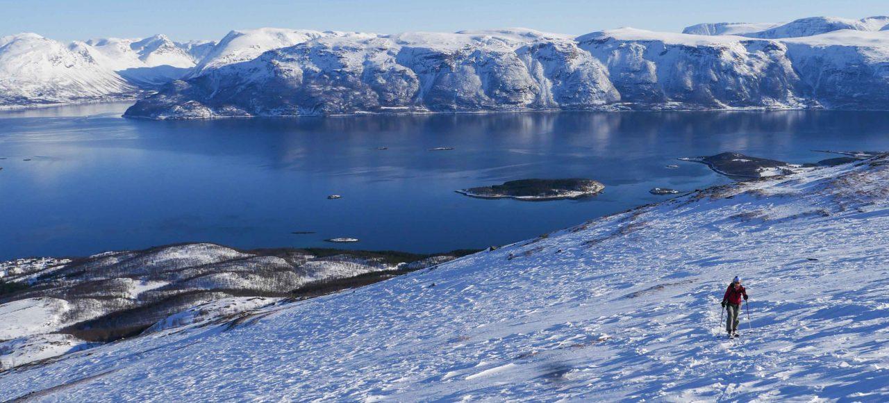 Randonnée Norvège - Lyngen