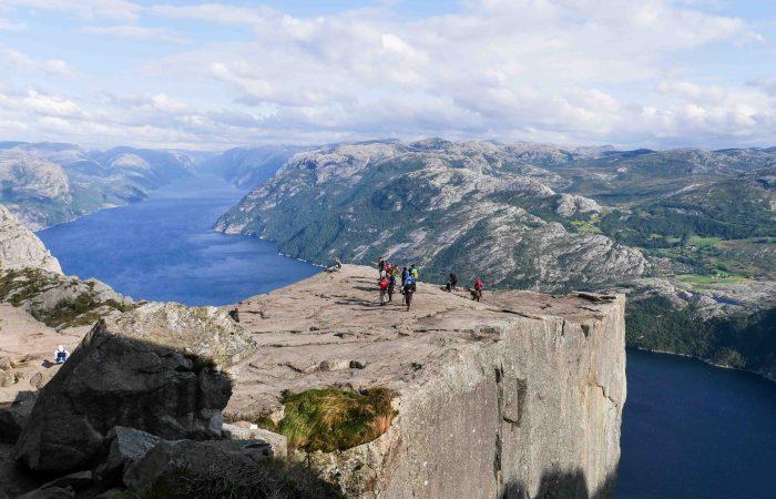 Randonnée Norvège - Prikestolen