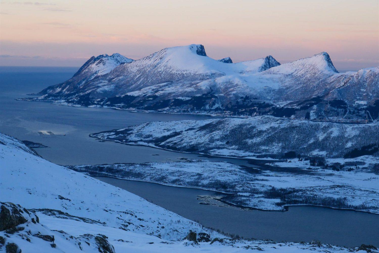 ski de rando Norvège - Senja