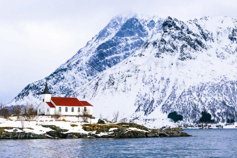 ski de rando Norvège - Lofoten