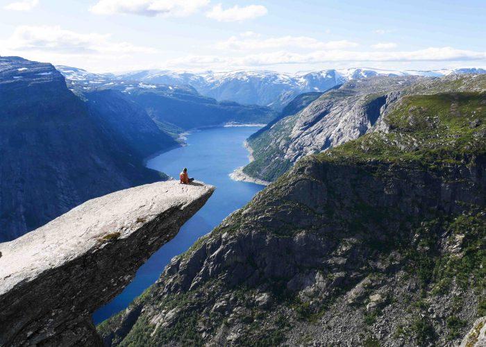 Randonnée Norvège - Trolltunga