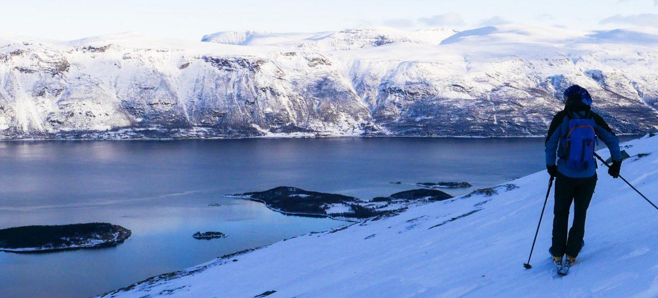 ski de rando Norvège- Senja