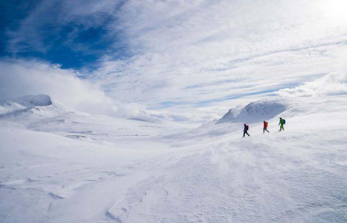 randonnée raquette Norvège - Rondane et Jotunheimen