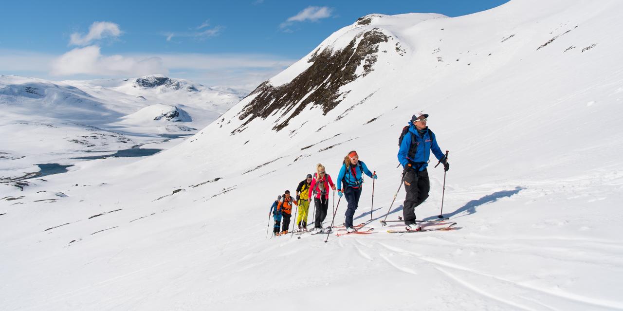 ski de rando Norvège - Jotunheimen