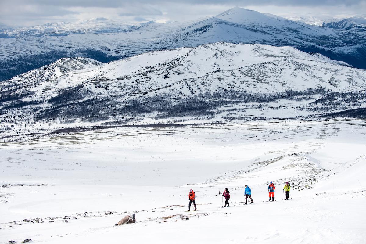 Norvège - Ski de fond-ski nordique
